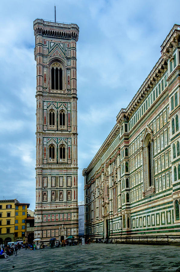 Cathedral Photograph - Dom Of Florence by Wolfgang Stocker