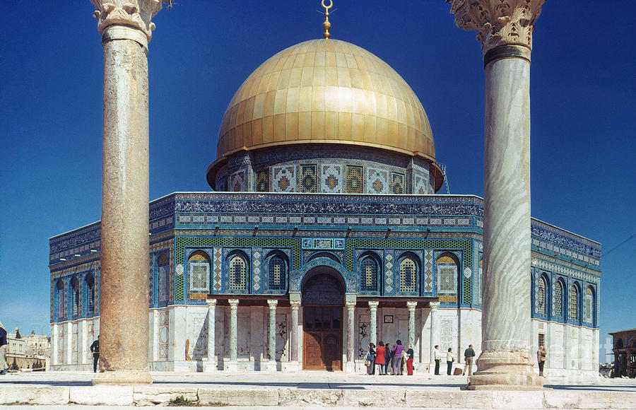 Building Photograph - Dome Of The Rock by Granger