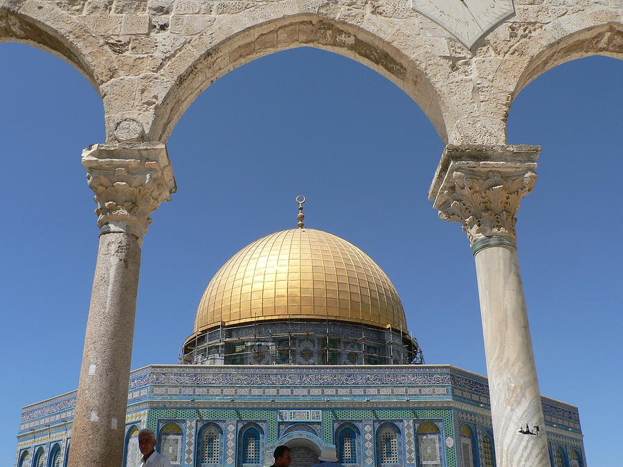 Dome Photograph - Dome Of The Rock by James Lukashenko