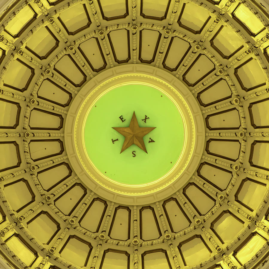 Dome Of The Texas State Capitol - Austin Photograph
