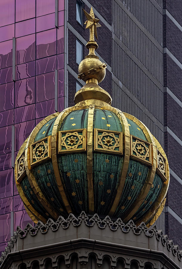 Dome On Central Synagogue Nyc