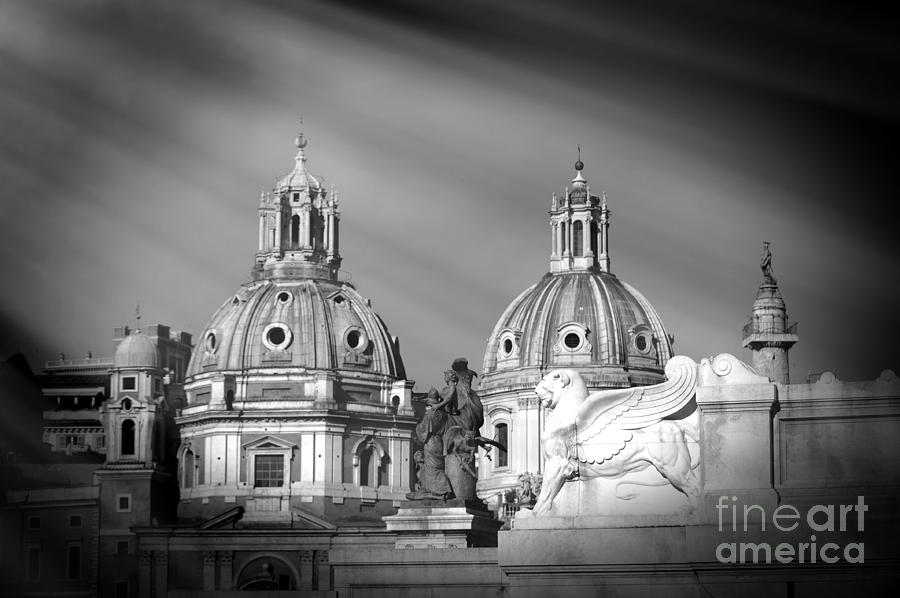 Domes Photograph - Domes by Stefano Senise