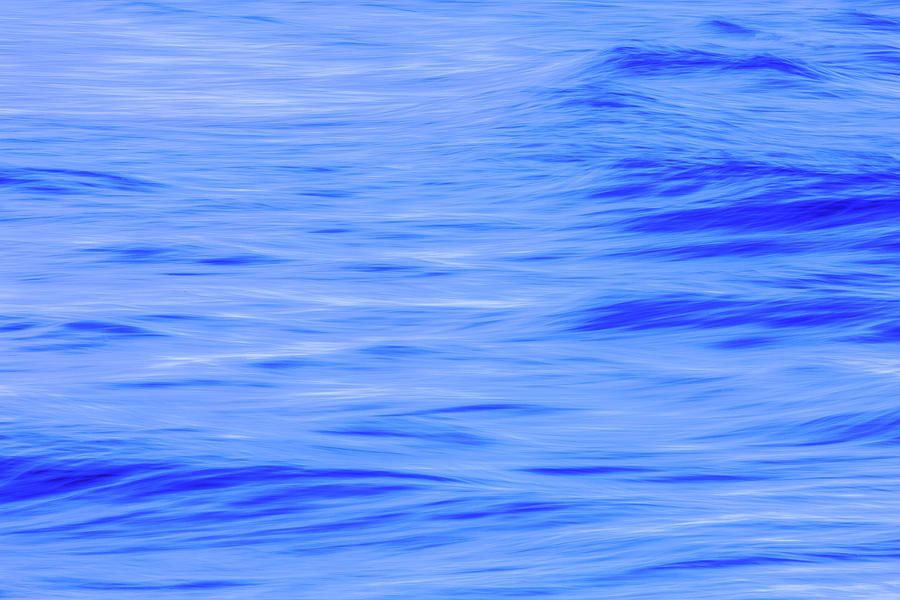 Dominican High Tide Abstract 3 Photograph