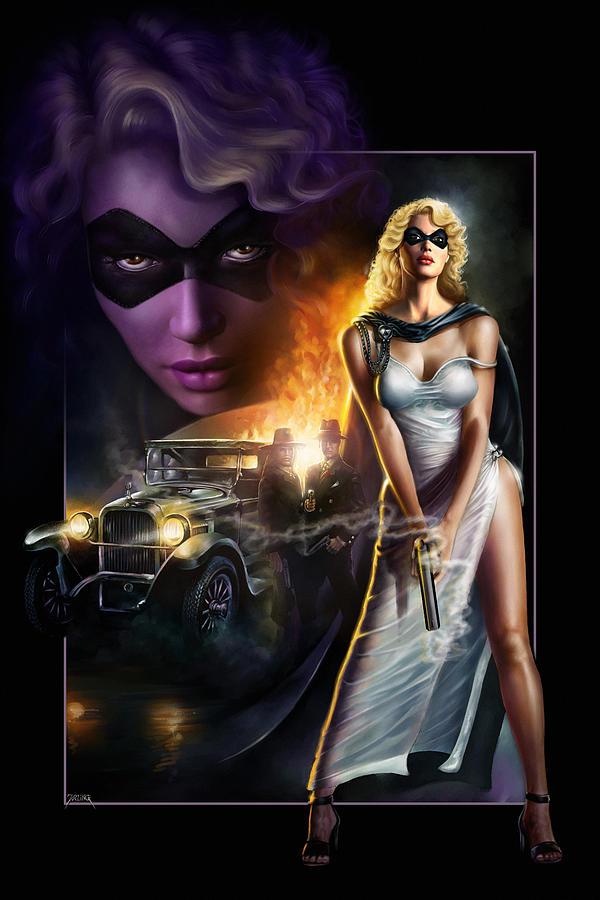 Domino Lady by Uwe Jarling
