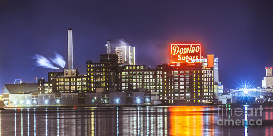 Domino Photograph - Domino Sugars by Stacey Granger