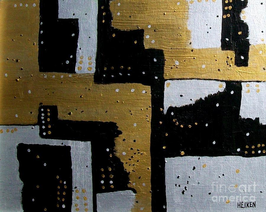 Painting Painting - Dominos by Marsha Heiken