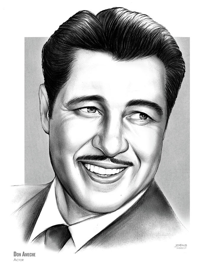 Don Ameche Drawing