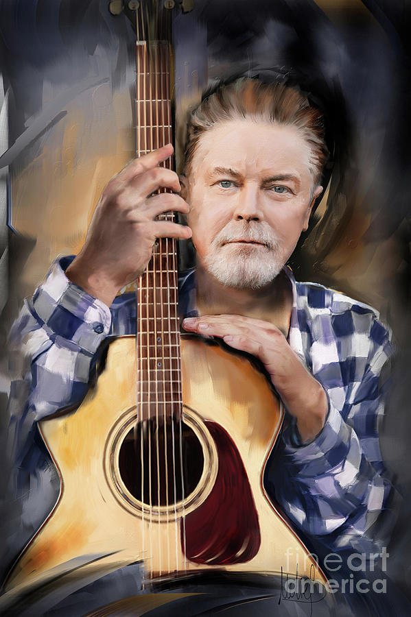 Don Henley Mixed Media - Don Henley by Melanie D