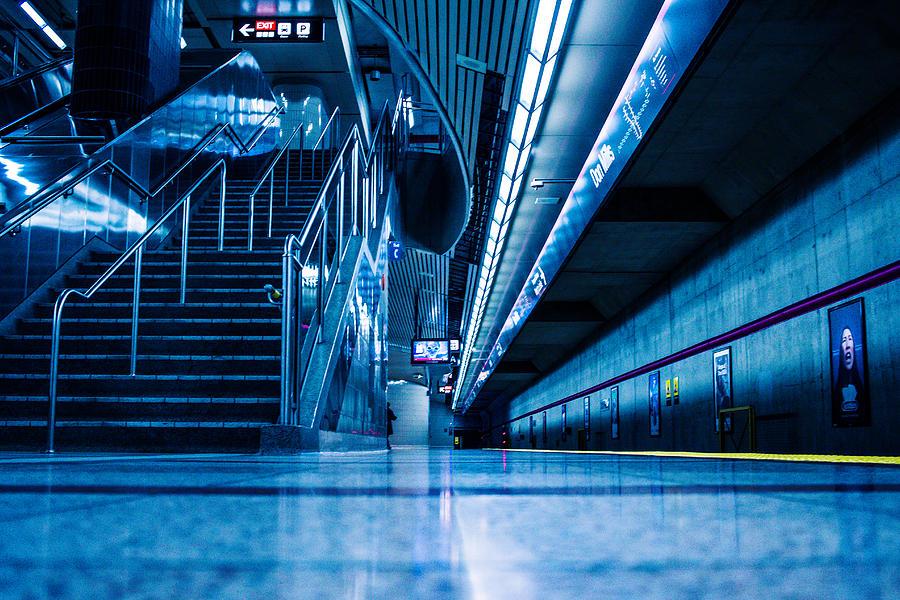Toronto Photograph - Don Mill Blue by Terrylknox Magbanua