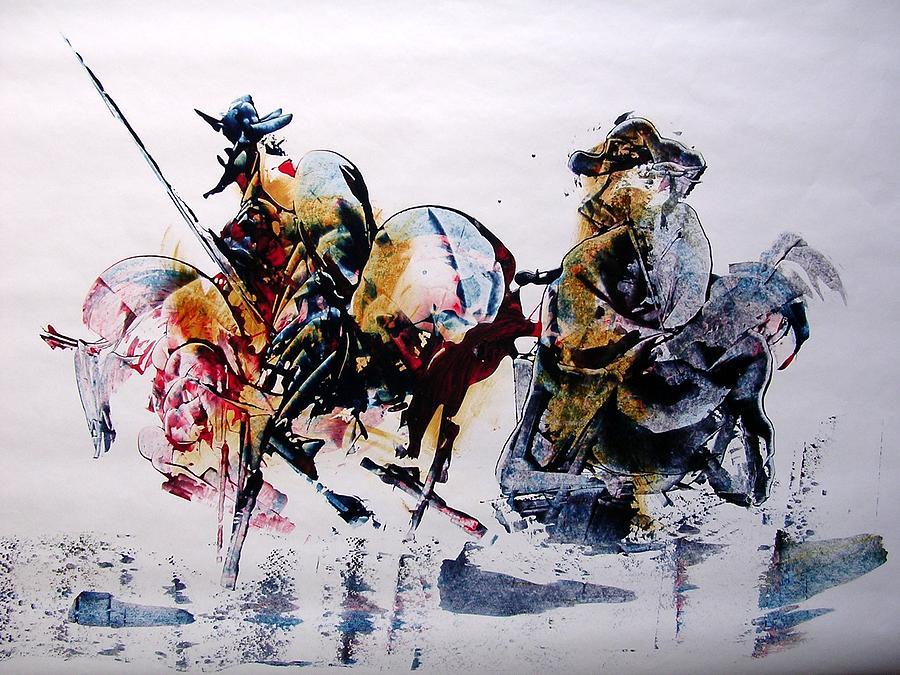 Don Quijote by Rezvan Kani