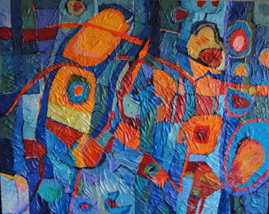 Abstract Painting - Don Quixote by Bernard Goodman