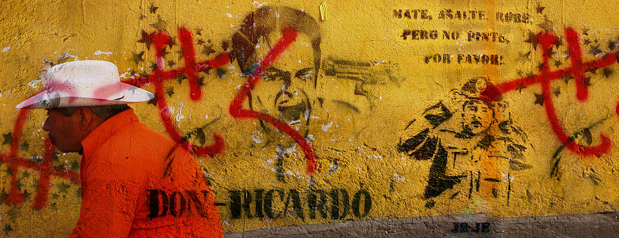 Grafitti Photograph - Don-ricardo by Skip Hunt