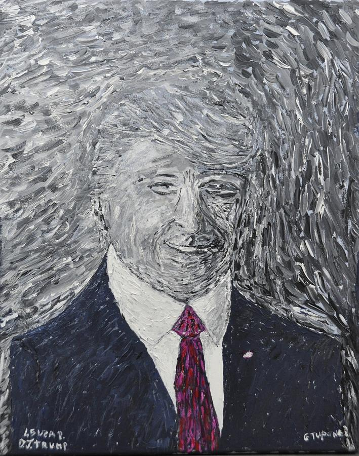 Donald J. Trump Painting - Donald J. Trump  by Gino Tupone