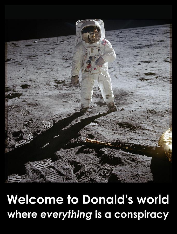 Richard Reeve Photograph - Donald World by Richard Reeve