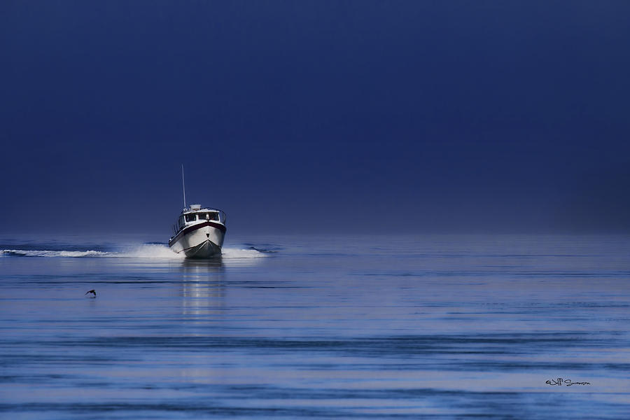 Boat Photograph - Done Fishing by Jeff Swanson