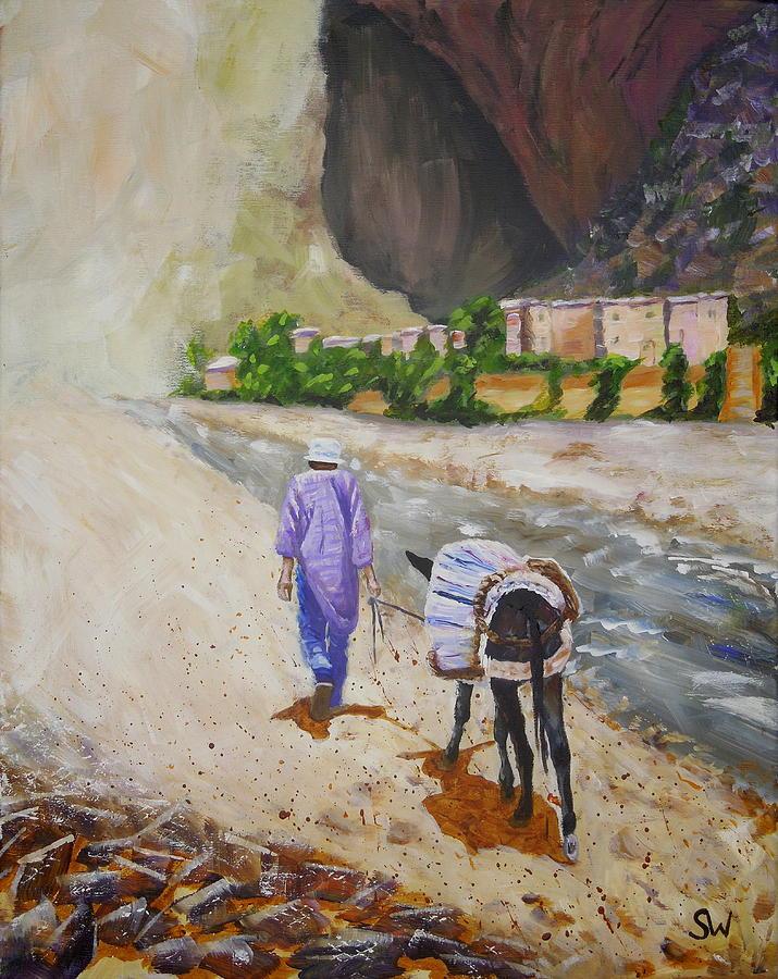 Donkey Work by Shirley Wellstead