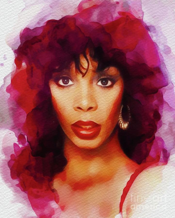 Donna Summer, Music Legend Painting