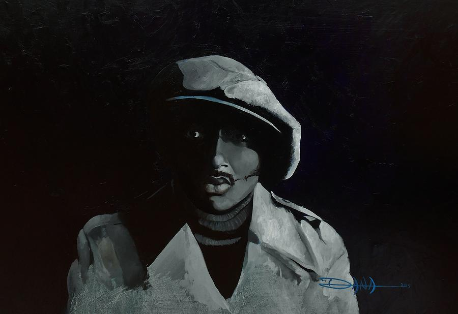 Portrait Painting - Donnie Hathaway by Dana Newman