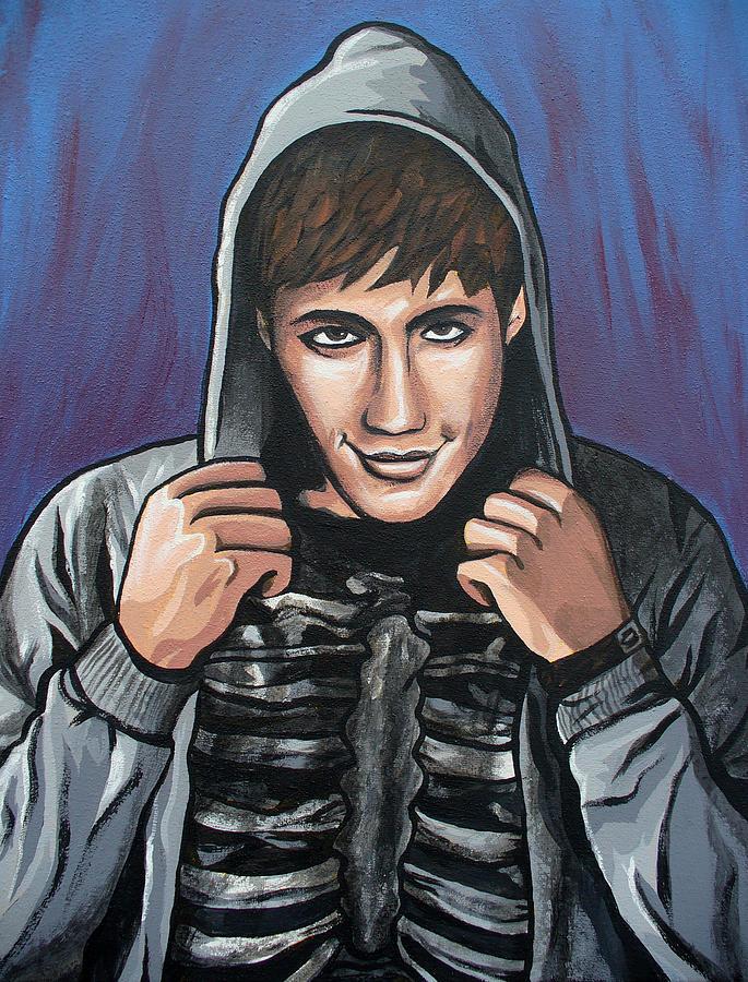 Donnie Darko Painting - Donnie by Sarah Crumpler