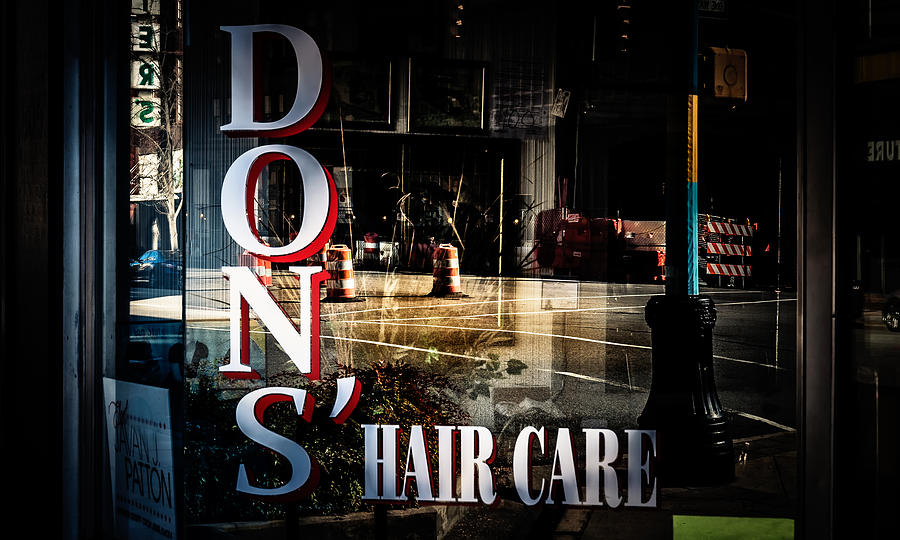 Hair Care Photograph - Dons Reflections  by Phillip Burrow