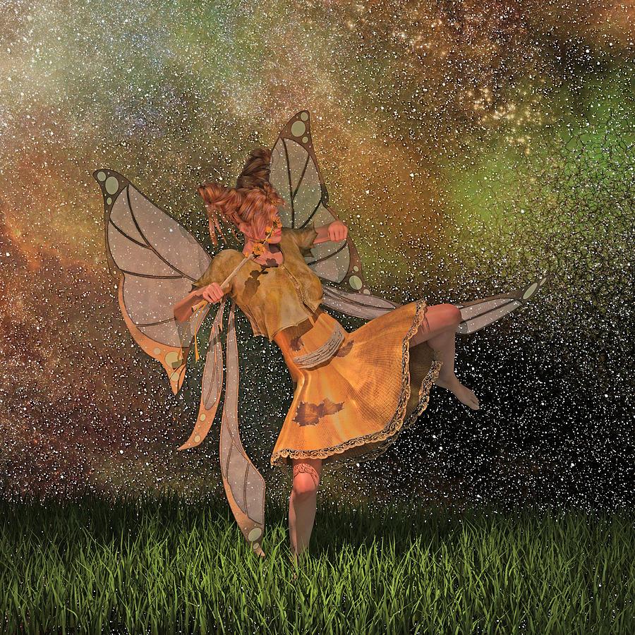 Fairy Digital Art - Dont Be A Menace  by Betsy Knapp