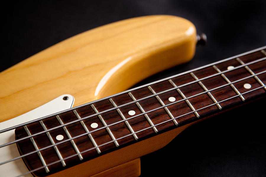 Bass Guitar Photograph - Dont Fret by Peter Tellone