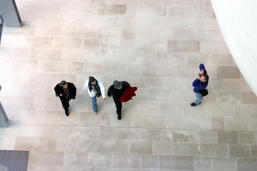 London Photograph - Dont Get Me In The Shot by Jez C Self