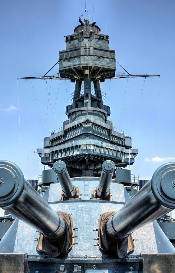 Battleship Photograph - Dont Mess With Texas by JC Findley