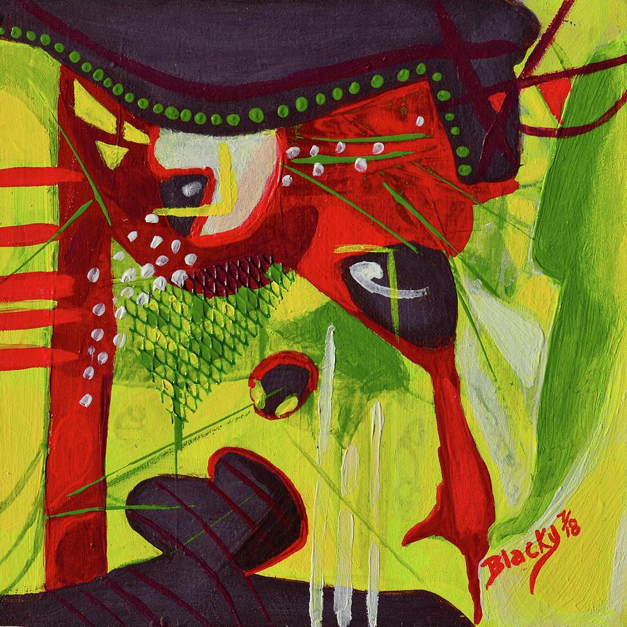 Dont Rain On My Parade Mixed Media by Donna Blackhall