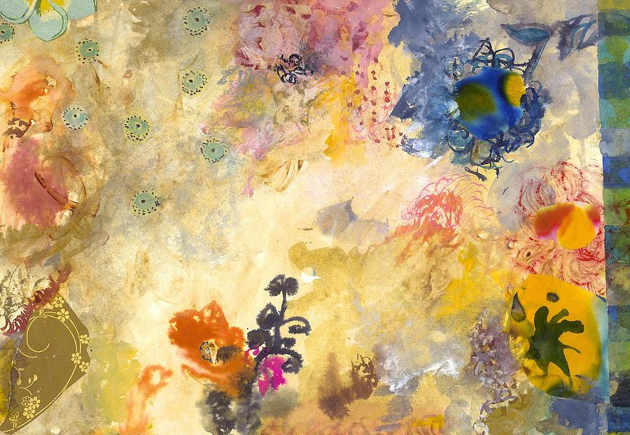 Flowers Painting - Dont Send Me Flowers Iv by Gloria Von Sperling