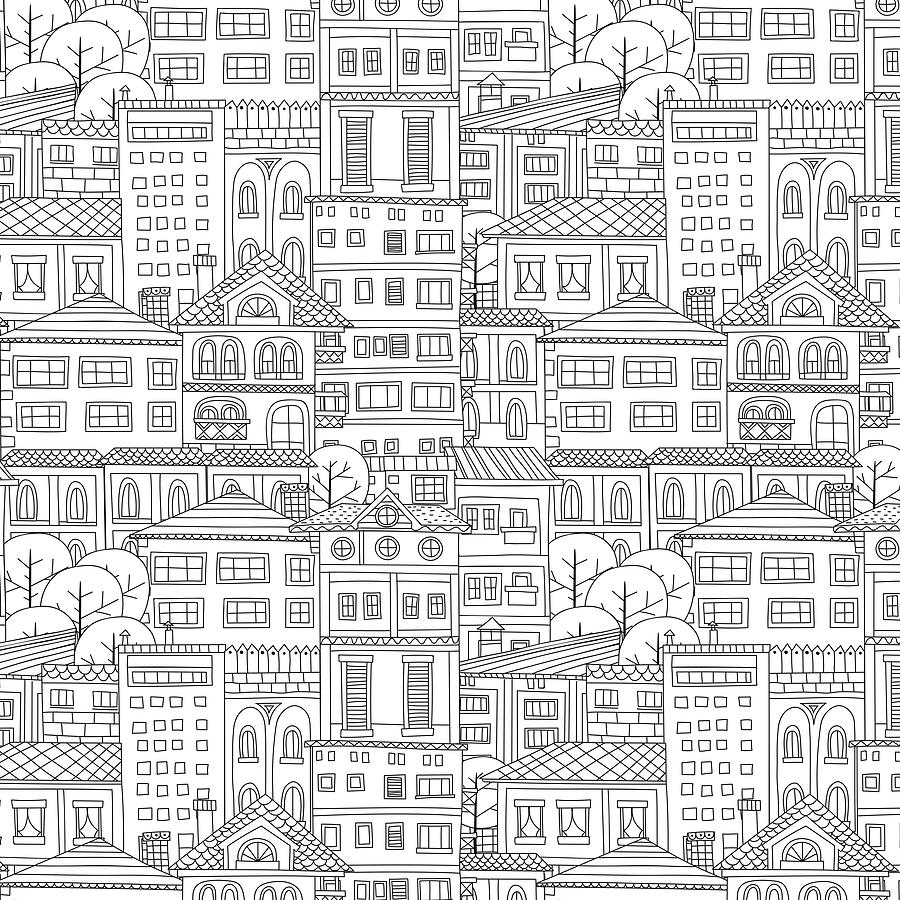 Pattern Doodle New Decorating Design