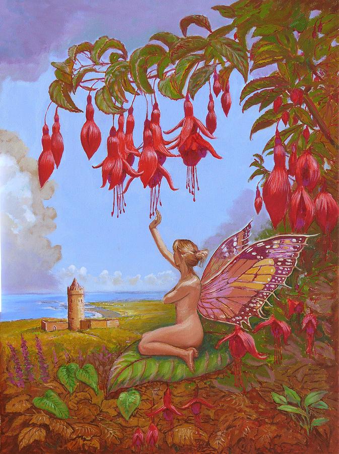 Doolin Painting - Doolin Fairy by Tomas OMaoldomhnaigh