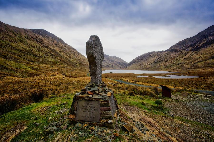 Famine Digital Art - Doolough Famine Memorial Cross by Chris Hood
