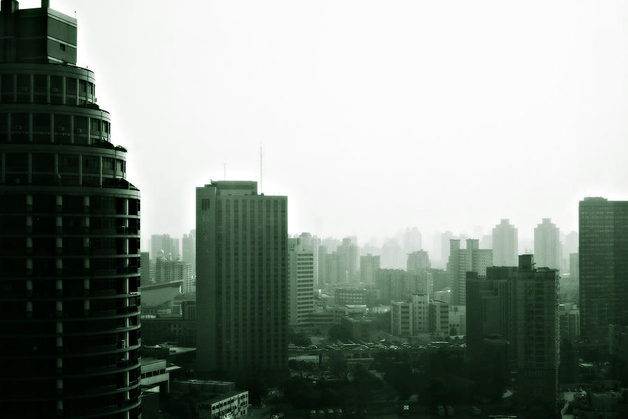 China Photograph - Doomsday Shanghai by Christine Till