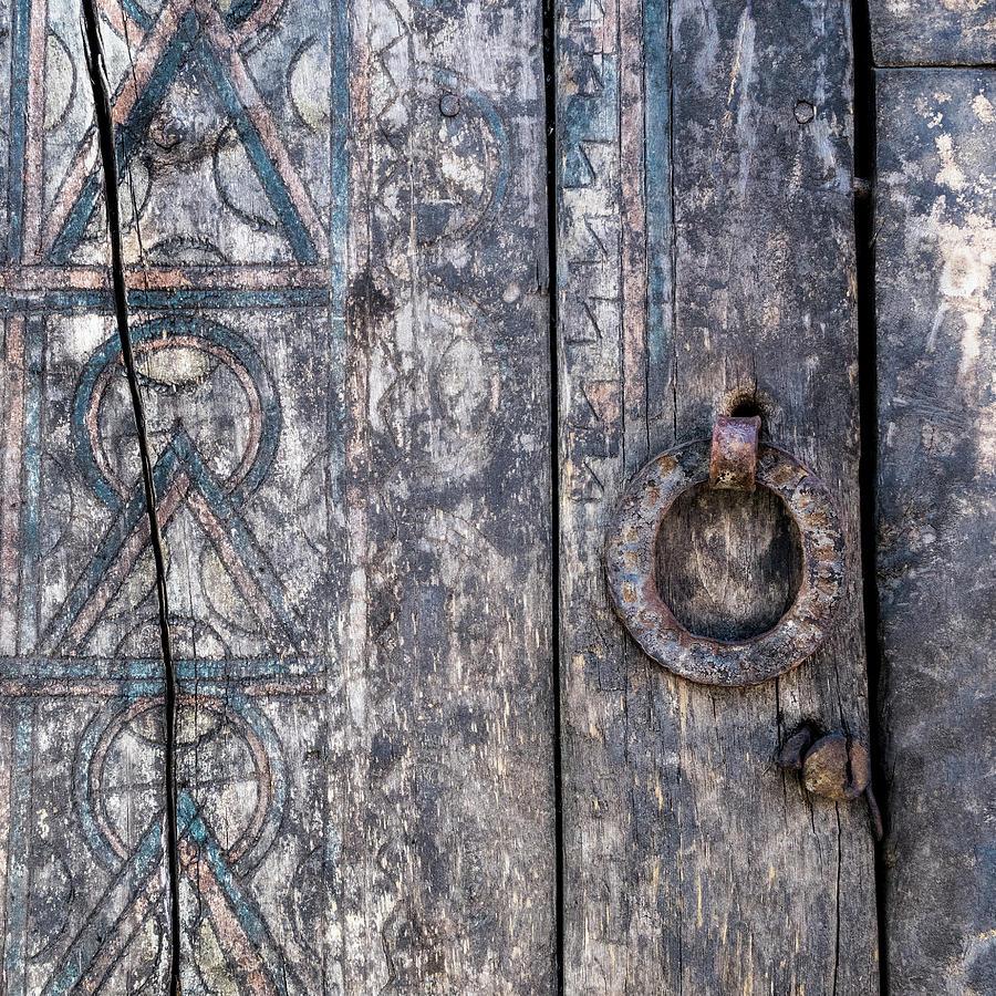 Door Photograph - Door Detail Santa Fe by Carol Leigh