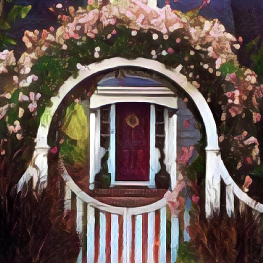 Door Digital Art - Door From A Dream by Richard Hinds