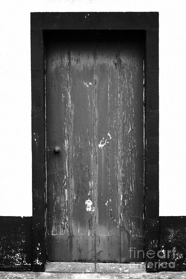 Closed Photograph - Door by Gaspar Avila