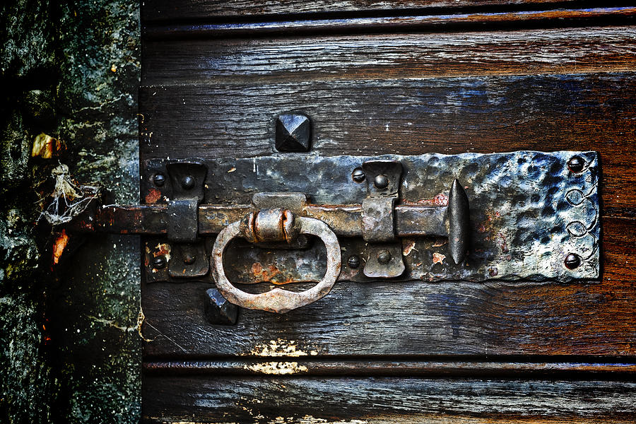 Latches Photograph - Door Latch by Joana Kruse