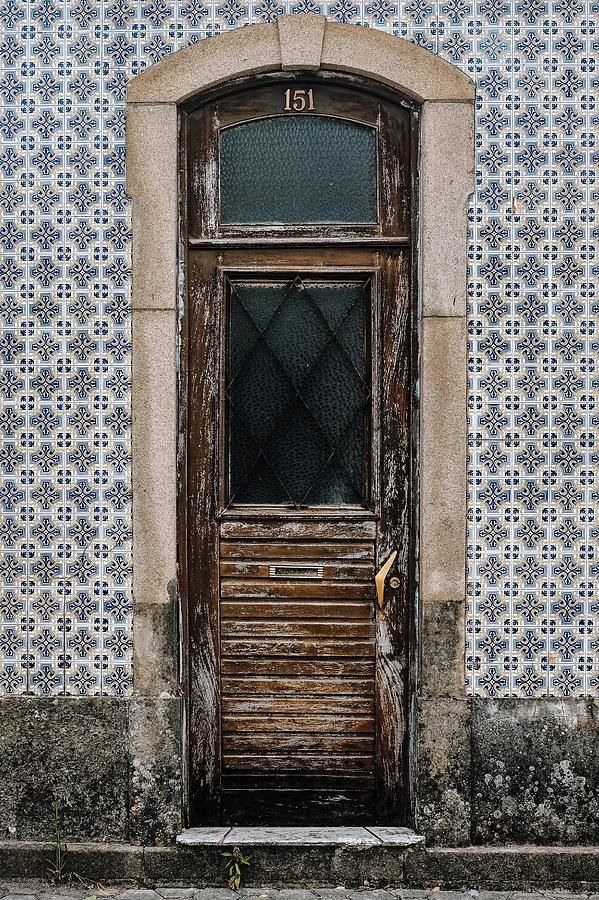 Old Door Photograph - Door No 151 by Marco Oliveira