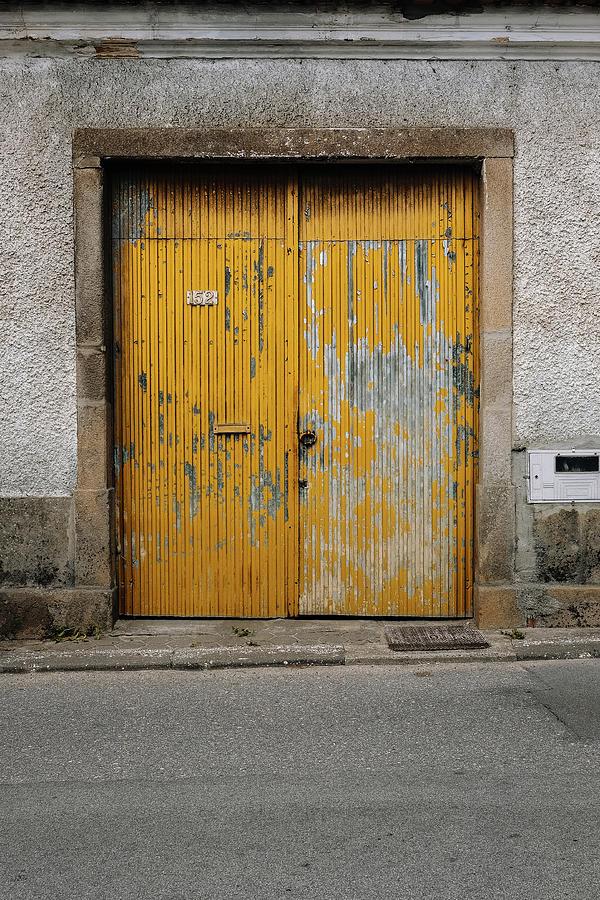 Antique Door Photograph - Door No 152 by Marco Oliveira