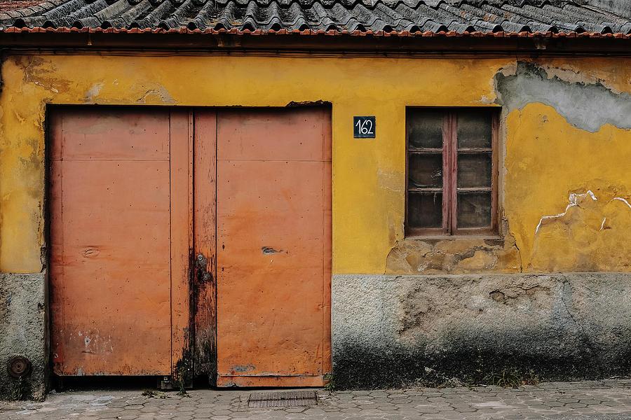 Old Door Photograph - Door No 162 by Marco Oliveira