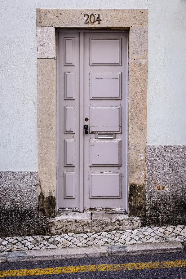 Antique Door Photograph - Door No 204 by Marco Oliveira