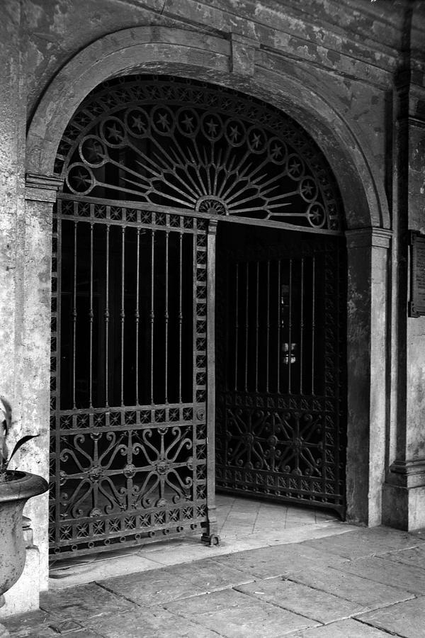 Cabildo Photograph - Door Of The Cabildo by Crescent City Collective