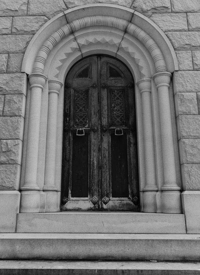 Crypt Photograph - Door To Eternity by Denise McKay