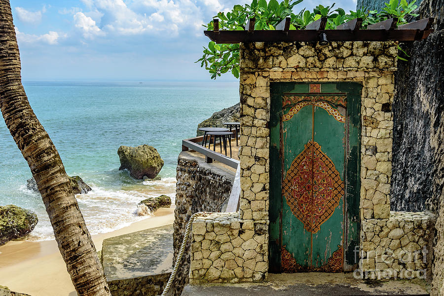 Door to the Bali Beach, Jimbaran by Global Light Photography - Nicole Leffer
