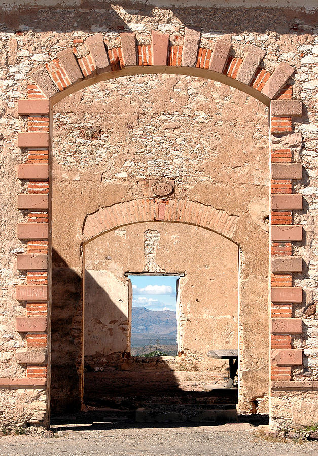 Arches Photograph - Door To The Desert by Charlotte Bell