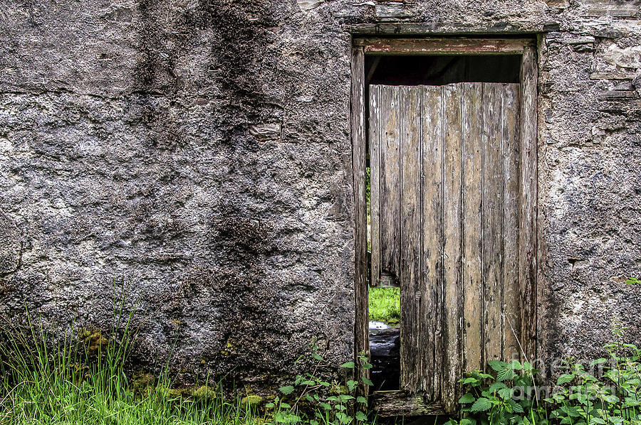 Cottage Photograph - Door To The Past  by Julie Chambers