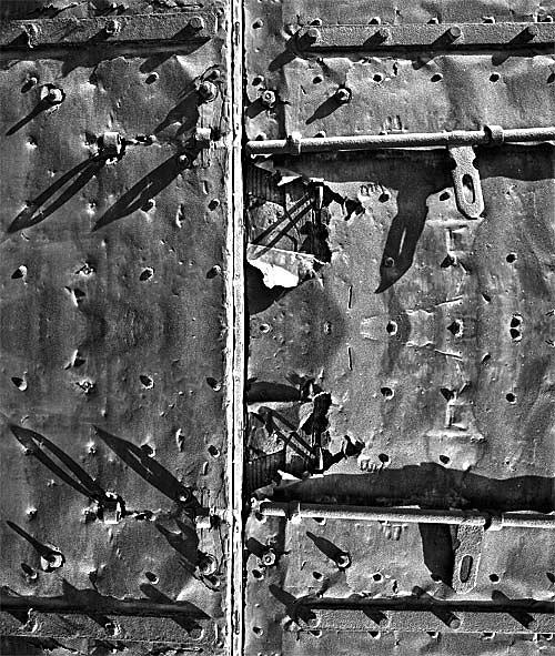 Abstract Photograph - Door by Yehan Wang