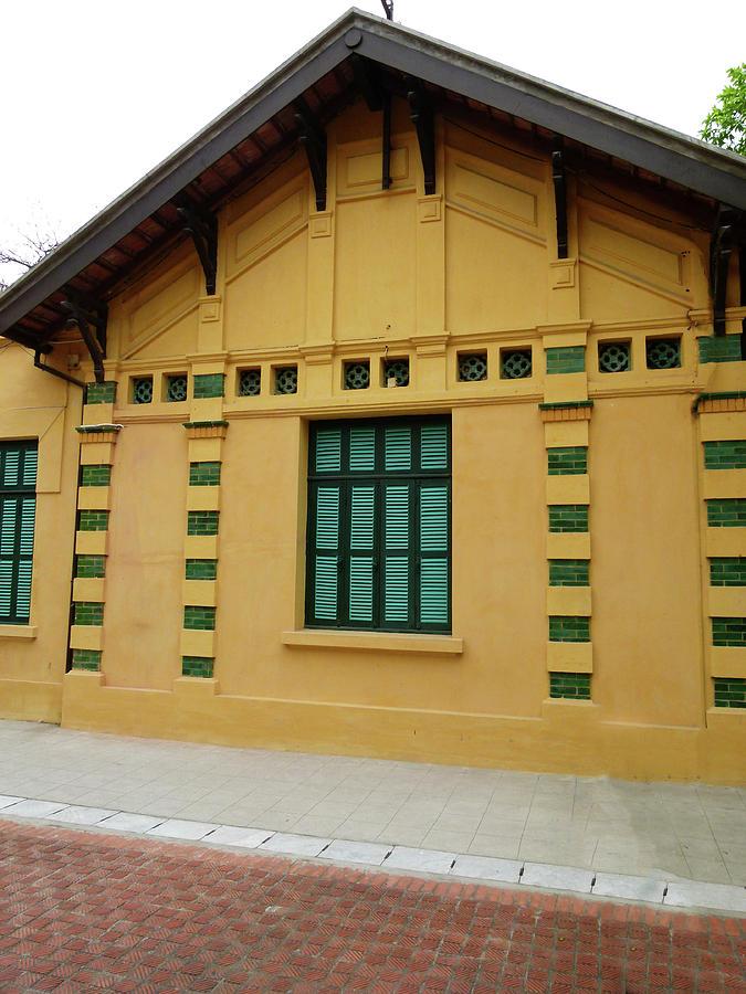 Vietnam Digital Art - doors and windows Officialcolors by Tsafreer Bernstein