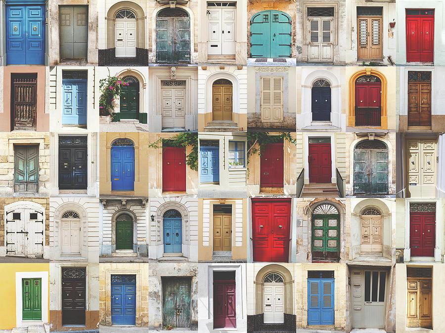 Ancient Photograph - Doors Collection by Sotiris Filippou